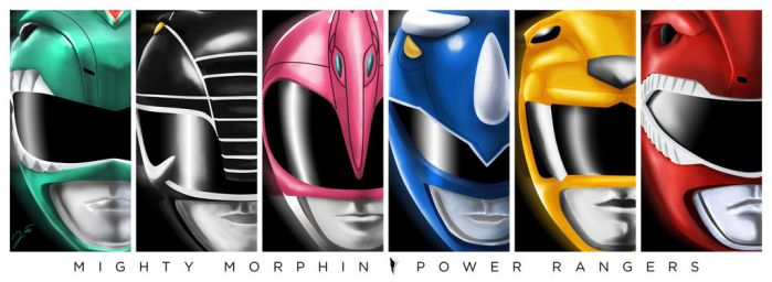 Mighty Morphin Power Rangers: Green by WeaponXIX
