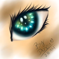 Eye practice - SAI by Falco951