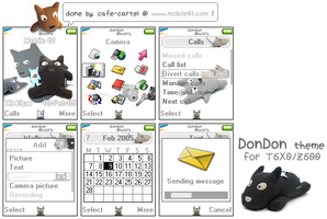DonDon theme for T610 by cafe-cartel