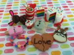 Kawaii Polymer Clay Charms! by Claycupcakes4