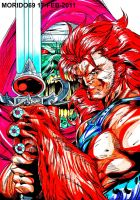 LEON-OH THUNDERCATS MARKER-COLOR by MUERTITO69