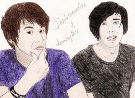 Danisnotonfire and Amazingphil by SydneyNicole