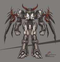 Machine Blots01 Bloodhorn by neurowing