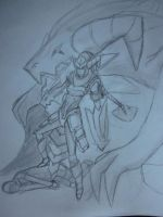 dungeon keeper shyvana by flyingjr688