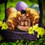 Happy Easter From Me And My Friends by ToddParis