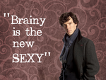 Brainy is the new sexy- wallpaper by Foxeretta