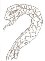 Snake doodle by QweXTheXEccentric