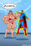Superman Sucks To Be You. by Atariboy2600