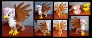 GILDA the griffon by MLPT-fan