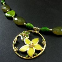 Summer Bloom Necklace by Gilliauna