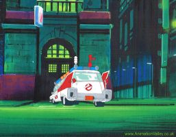 Original Ghostbusters Production Cel by AnimationValley