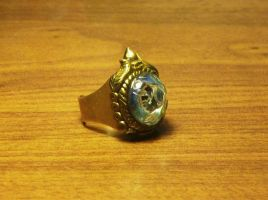 Ornate eye ring by Babonga