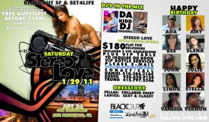 Stereo Love Flyer by yellow-five