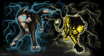 Clash of Legends by TheDaylightWolf