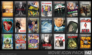 Movie Icon Pack 142 by FirstLine1