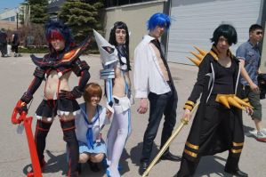 Our Kill la Kill group at AN! by simakai