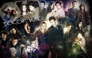 Doctor Who by joey-artworks