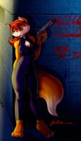 SpyFox in a CatSuit by Furboz