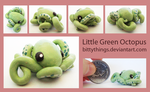 Little Greentopus by Bittythings