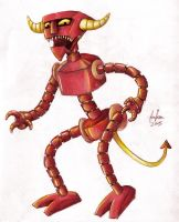 Robot Devil CLR by femjesse