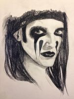 Christian Coma - Black Veil Brides by KatelynAnne