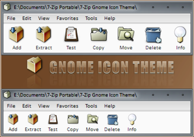 7-Zip Gnome Icon Theme by RudeBoySes