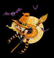 The Great Pumkin Witch by Sachmoe64