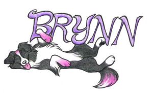 Brynn Badge Commission by WildSpiritWolf