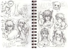 VolSa -Sketch Dump part I- by Amdhuscias
