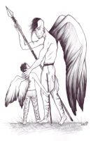 Sulphae-- Father and Son by iluvobiwan91