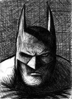 Pen Batman by Harshcore