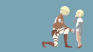 [Request] Attack on Titan - Armin Arlert by Hespen