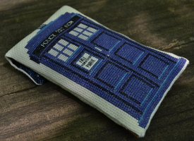 Doctor Who (10th) Phone Case Cross Stitch Pattern by rhaben