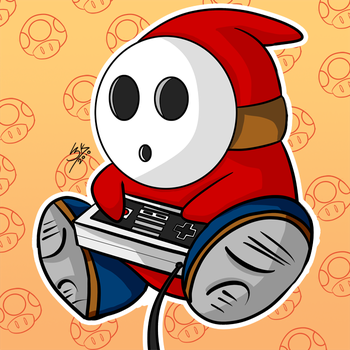 Shy guy by Locke3K
