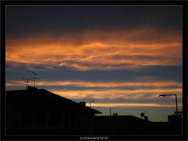 Clouds at Sunrise by afv
