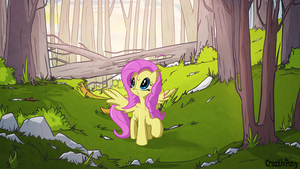 Exploring Fluttershy by CreativPony