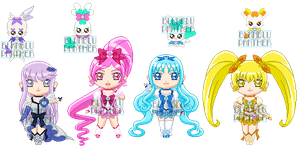 ChibiP: Heartcatch Pretty Cure by blknblupanther
