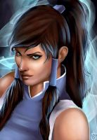 Avatar Korra by Forty-Fathoms