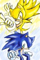 :This Way, Sonic: by CloudshadeZer0