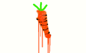 Dead carrot? by babybunny278