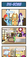Pony 4 Koma - Dis-Bomb by Reikomuffin