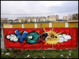Variant style graff by javick