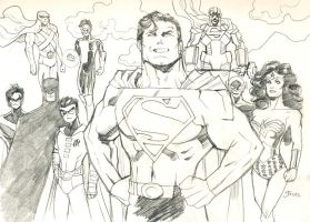 Post-Crisis DCU by guinnessyde