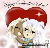Valentine's day card: Be my Bakura! X3 by bluerosefantasy