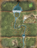 Efhalond - DnD City Map by Madwing