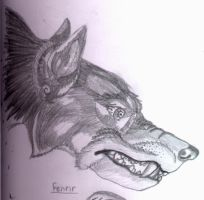 Fenrir by lined-paper