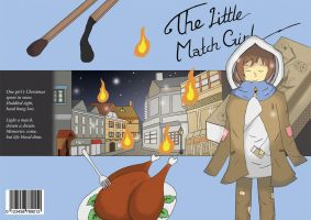 The Little Match Girl ~ Book Cover by Jun-Sasaki