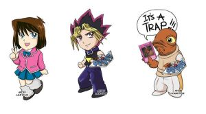 Commission:Yugioh Phone Charms by laurbits