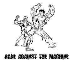 Rage Against The Machine by rubioric