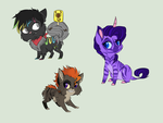 YCH Derps .:Complete:. by XKSilver